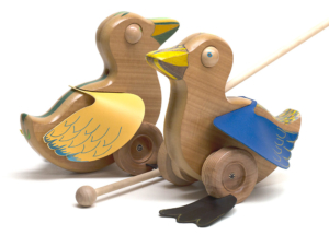 Push toys. Ducks!
